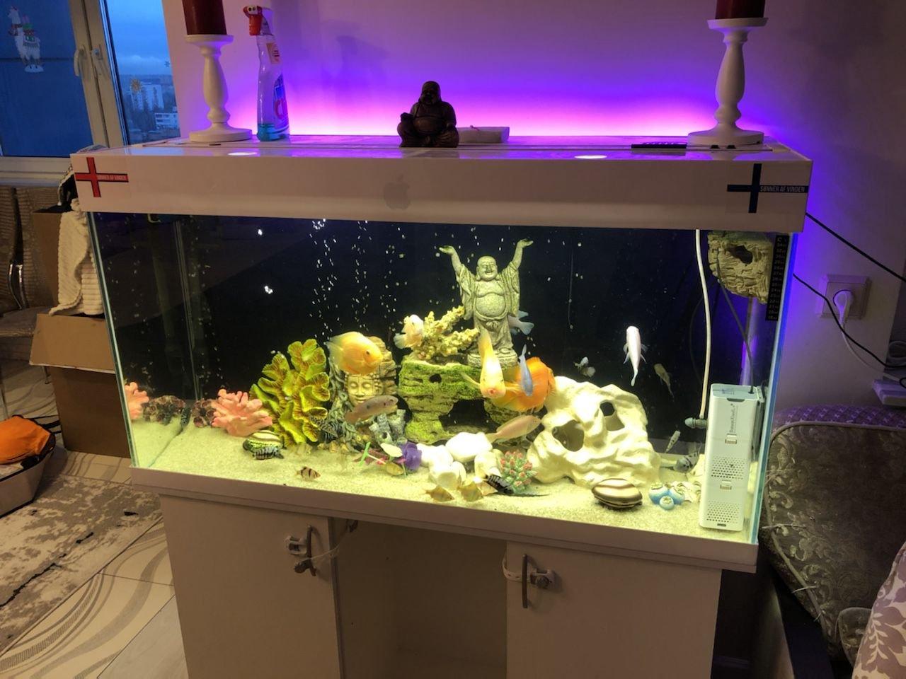 Светодиодная лампа для аквариума 89.5 см